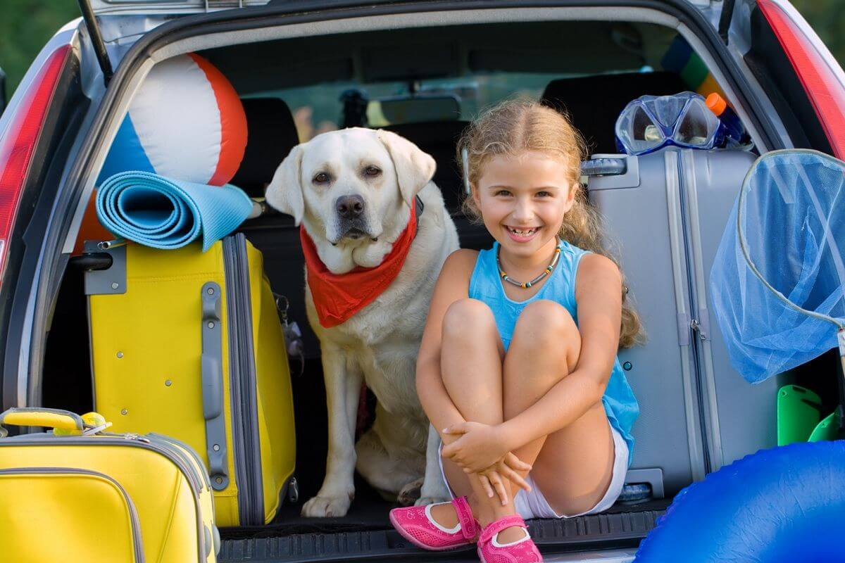 Autofahrten mit Kindern