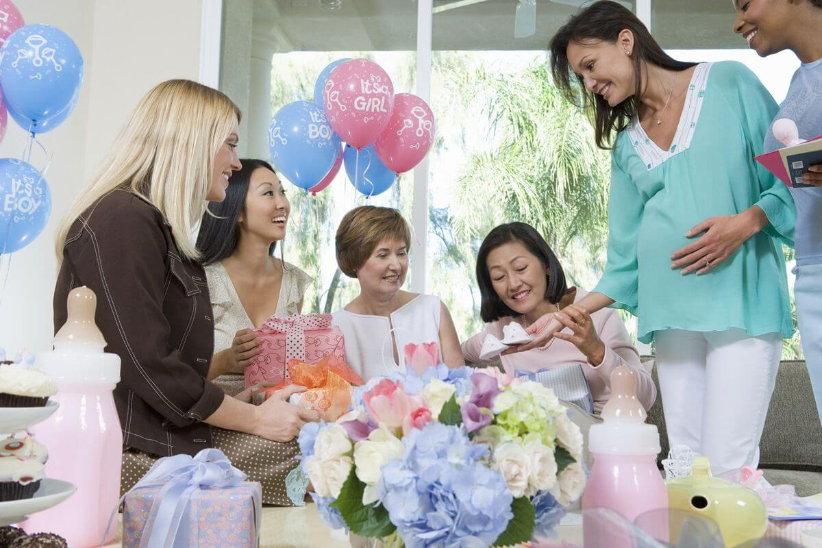 Tolle ideen f r die baby party - Baby shower party ideen ...