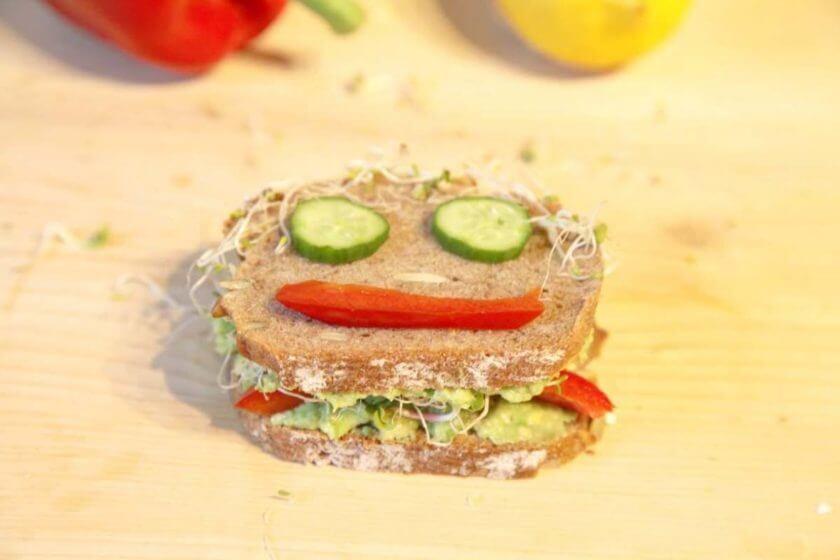 LaVita Pausenbrot - Rezept Avocadobrot