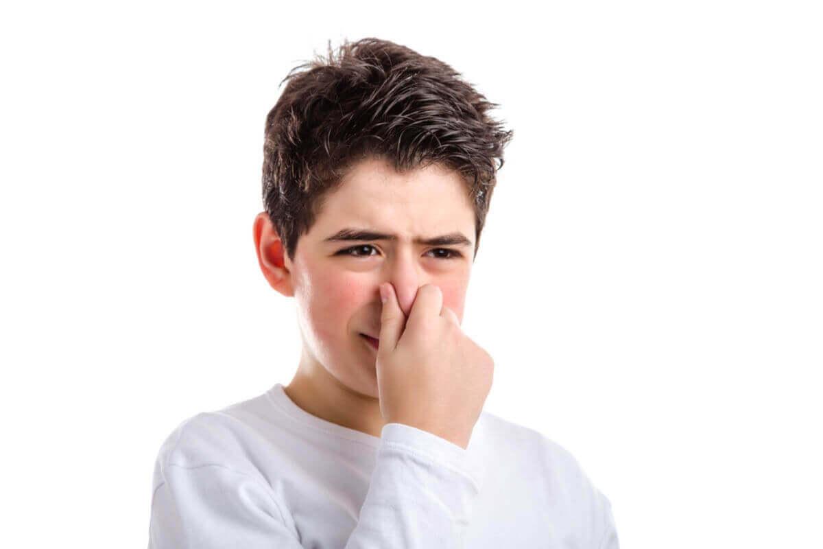 Schweißgeruch bei Kindern