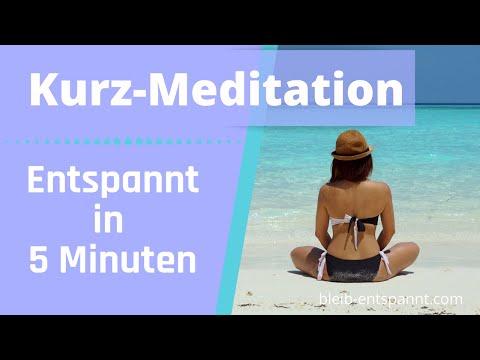 Geführte Kurzmeditation gegen Stress für Entspannung, Kraft & Energie - Kopfhörer - Meditation