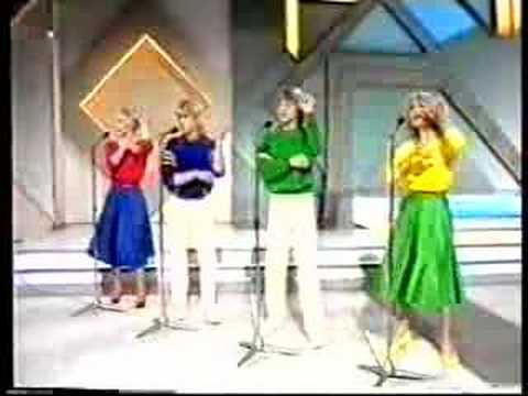 Bucks Fizz - Making your mind up - song for europe 1981