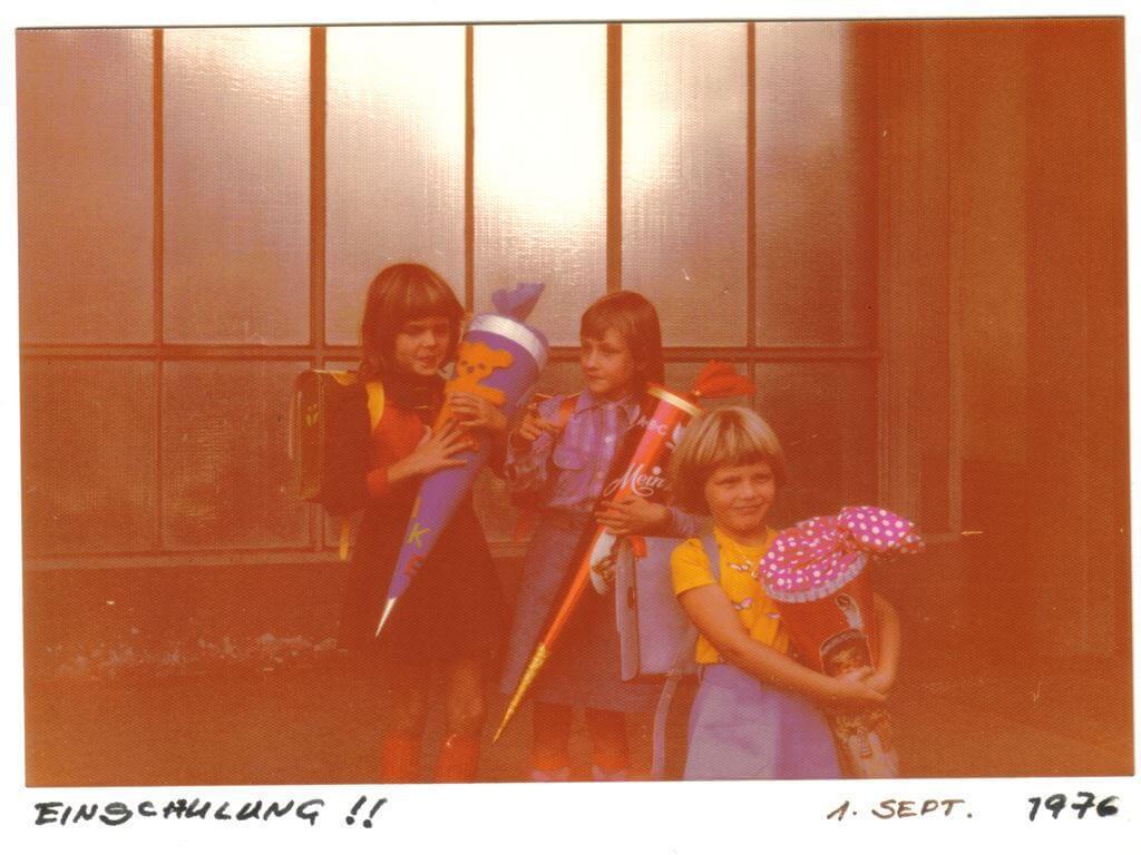 Einschulung 01.09.1976