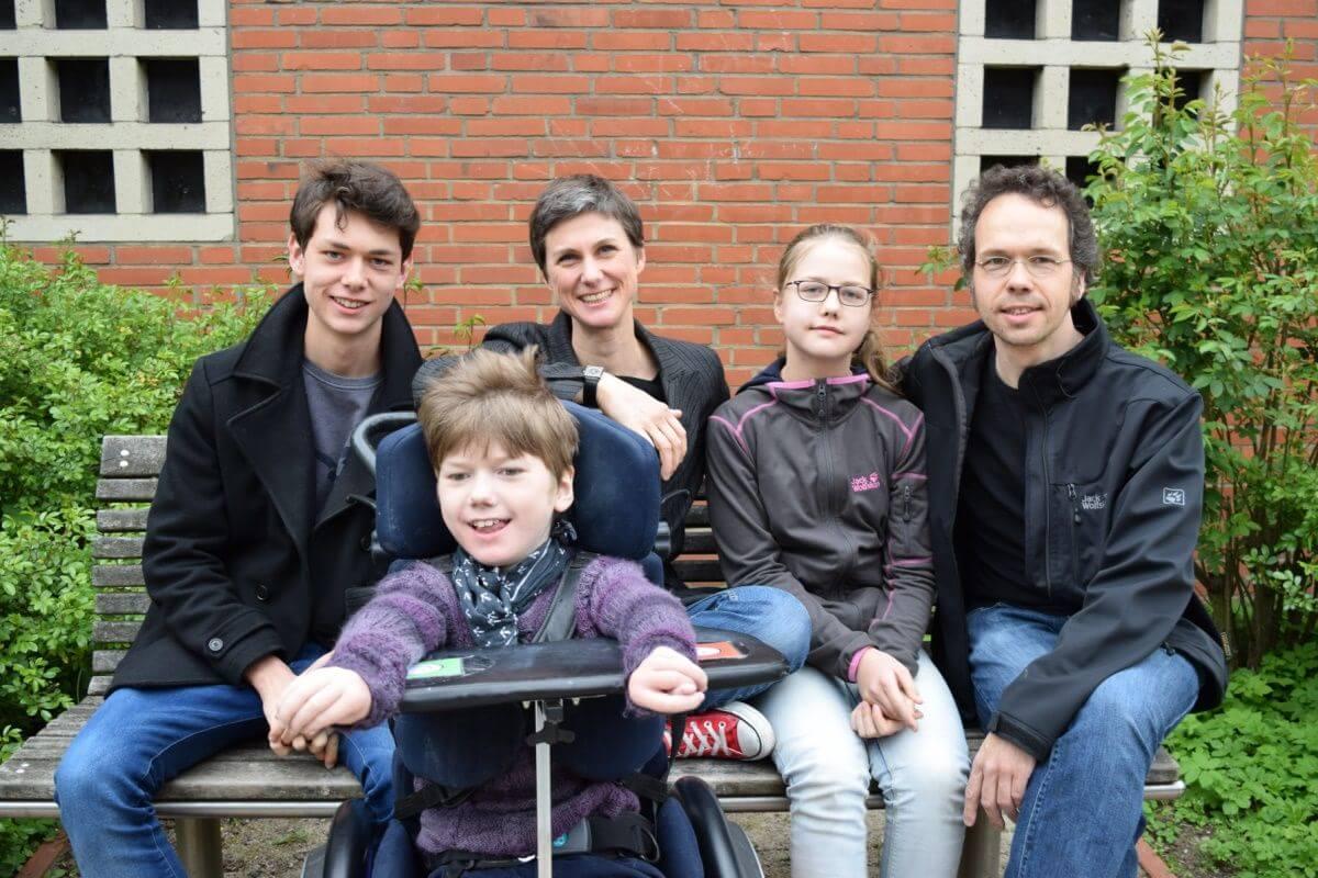 Rasmus, Pelle, Kerrin, Smilla und Olav