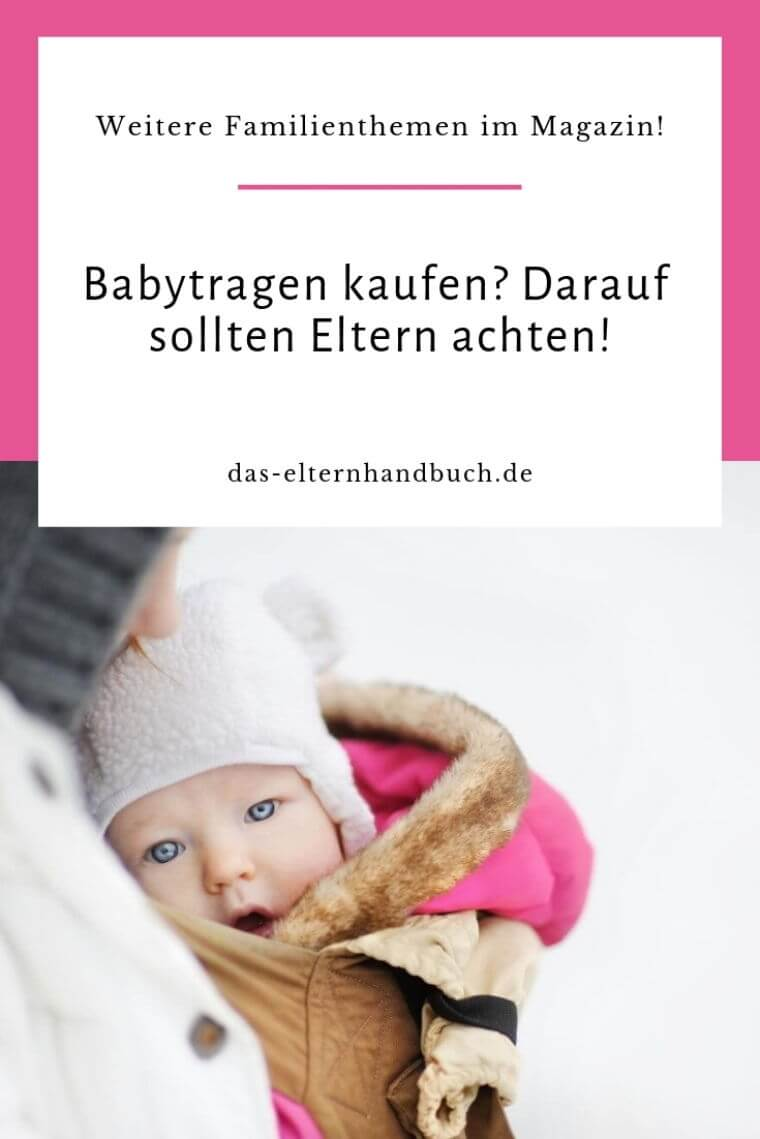 Babytrage kaufen