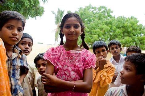 Plan Mädchen Andhra Pradesh Indien