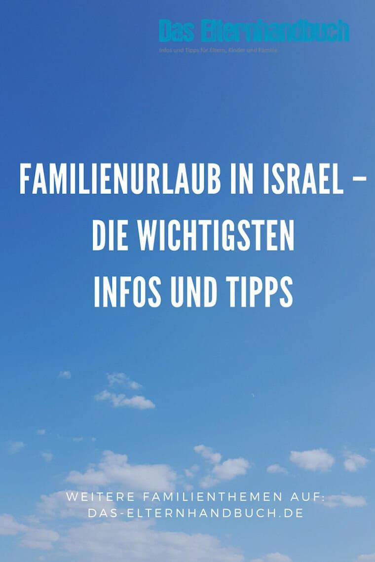 Familienurlaub Israel