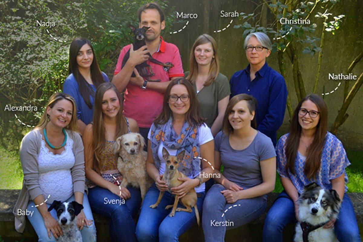 Team vom Tierschutz Shop