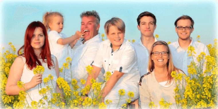 Familie Eiken-Lüchau
