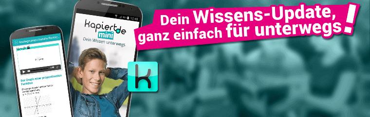 Online-Nachhilfe - kapiert.de-App