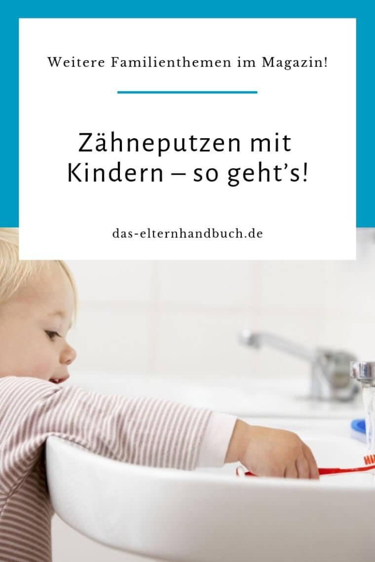 Zähneputzen mit Kindern