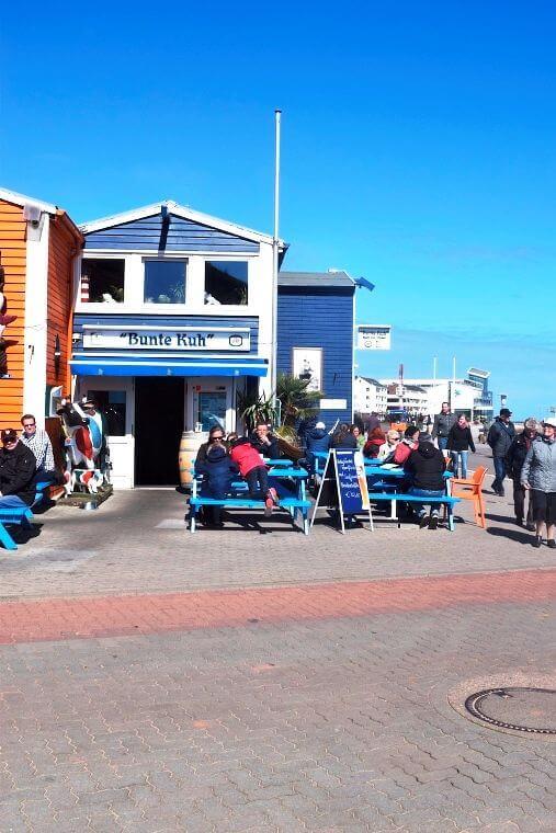 Helgoland - Bunte Kuh