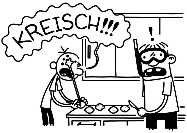 Gregs tagebuch das geheimnis seines erfolges for Wimpy kid coloring pages