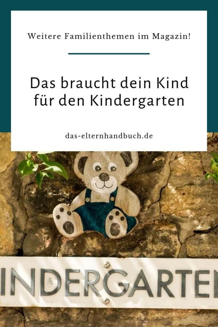 Kindergarten Grundausstattung