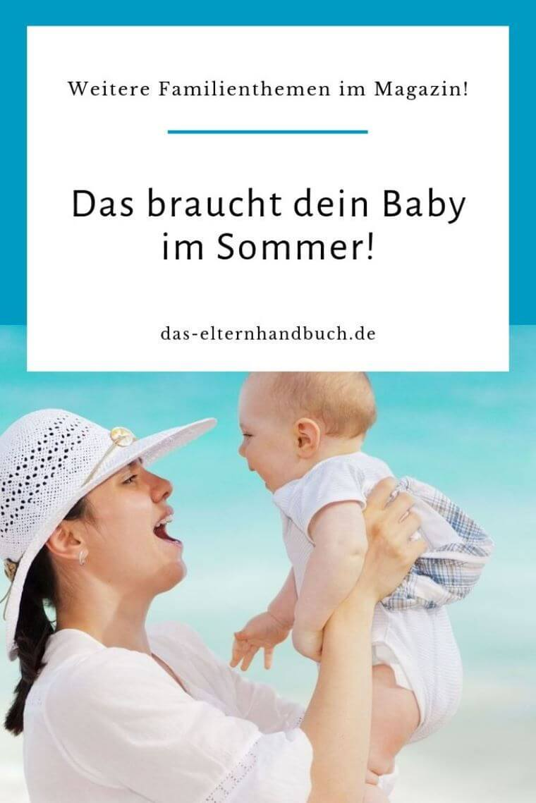 Sommer Baby Grundausstattung