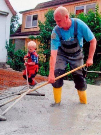 Baustellen-Kids - Beton