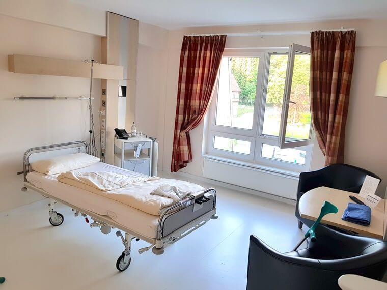 Klinik Einzelzimmer Krankenkasse