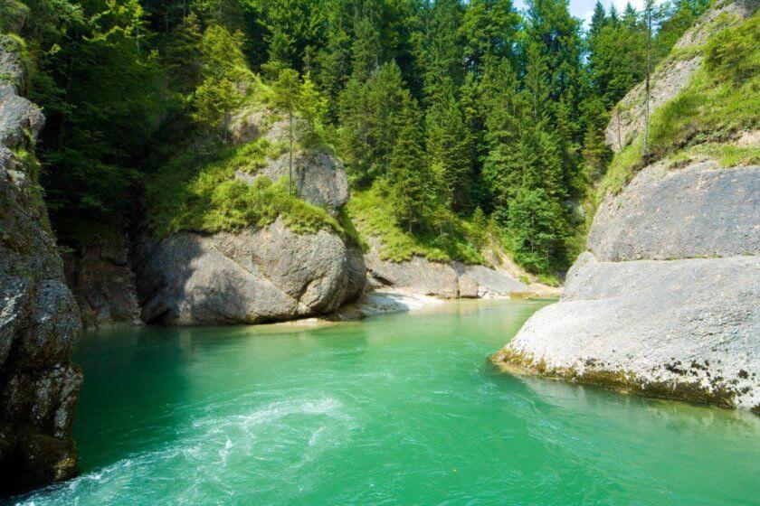 Ammerdurchbruch Scheibum / Ammergauer Alpen