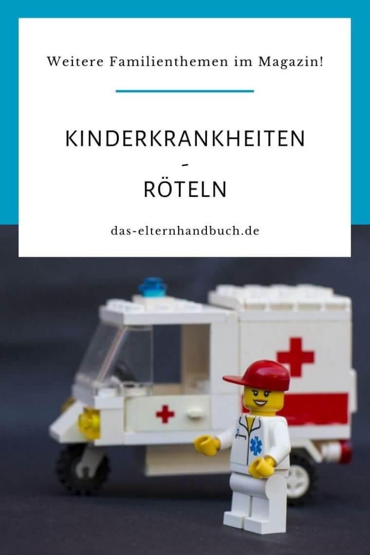 Kinderkrankheiten: Röteln