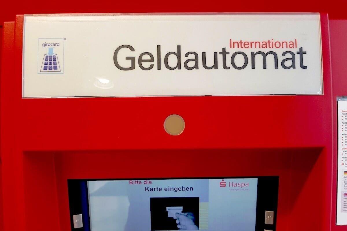 Konto - Geldautomat