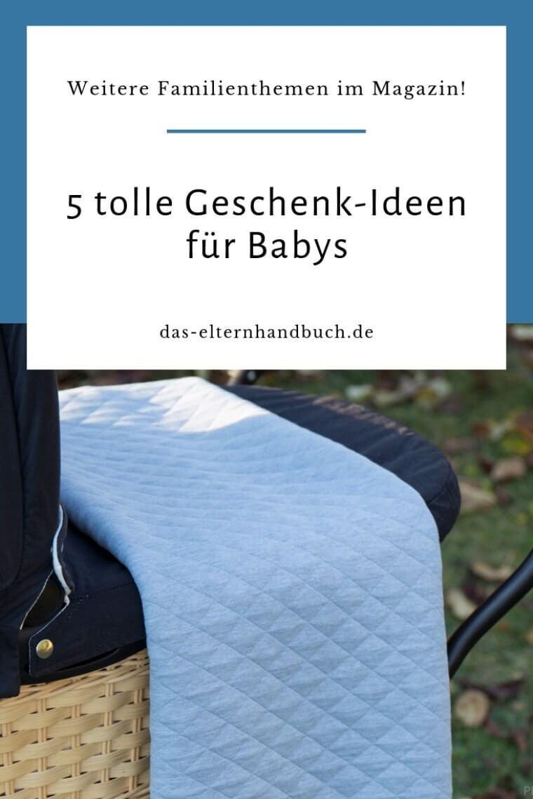 Geschenk-Ideen für Babys