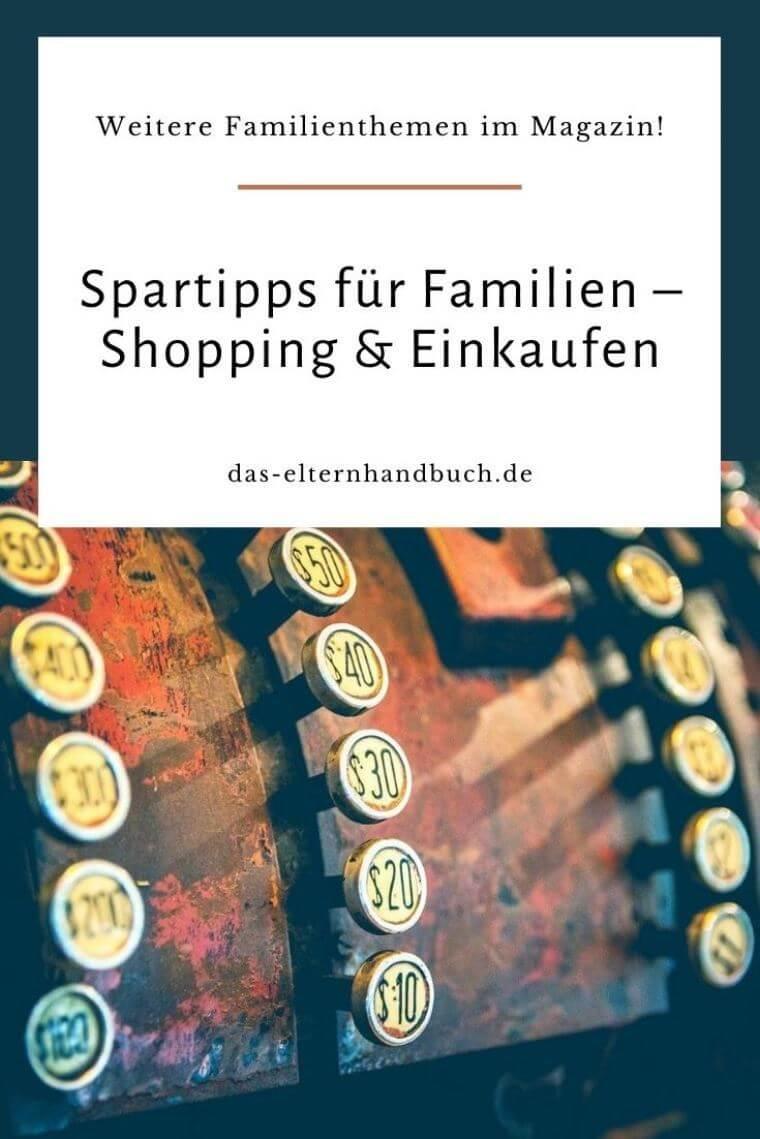 Sparen bei Shopping und Einkaufen