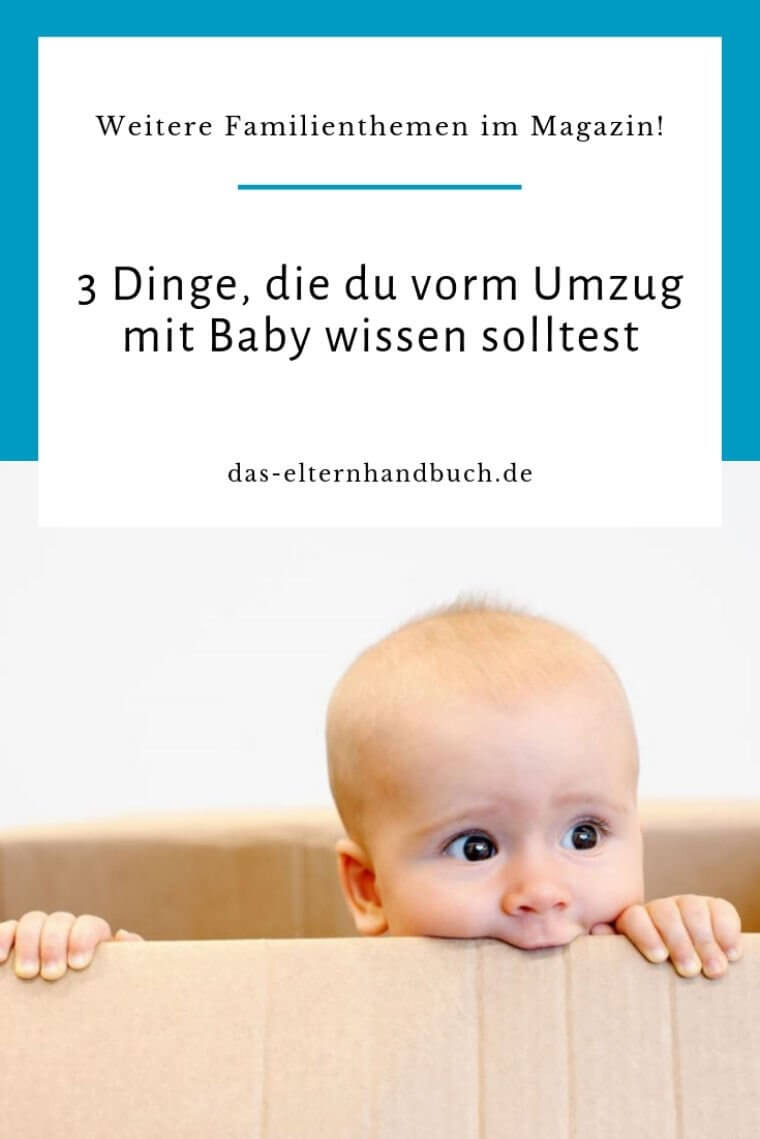 Umzug mit Baby