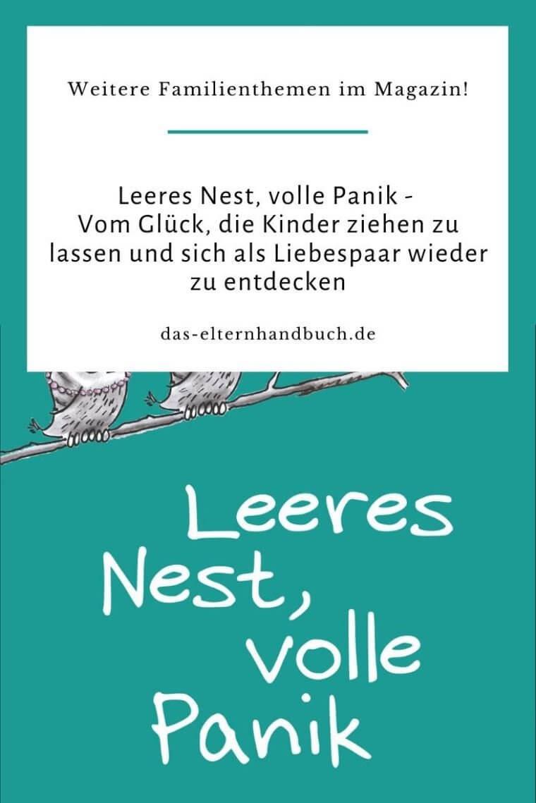 Leeres Nest, volle Panik
