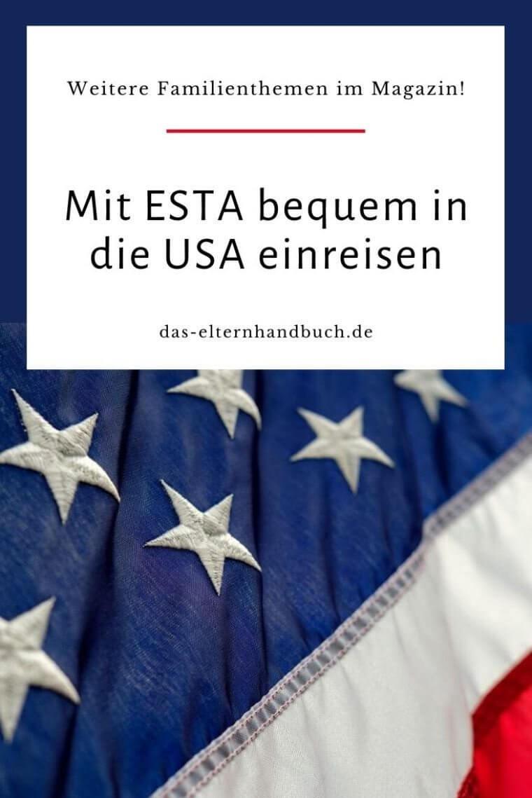USA, Visum, ESTA