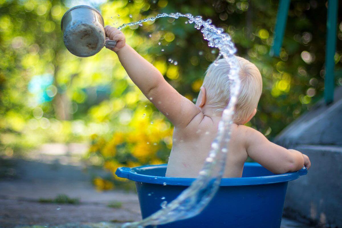 Garten, Wasser