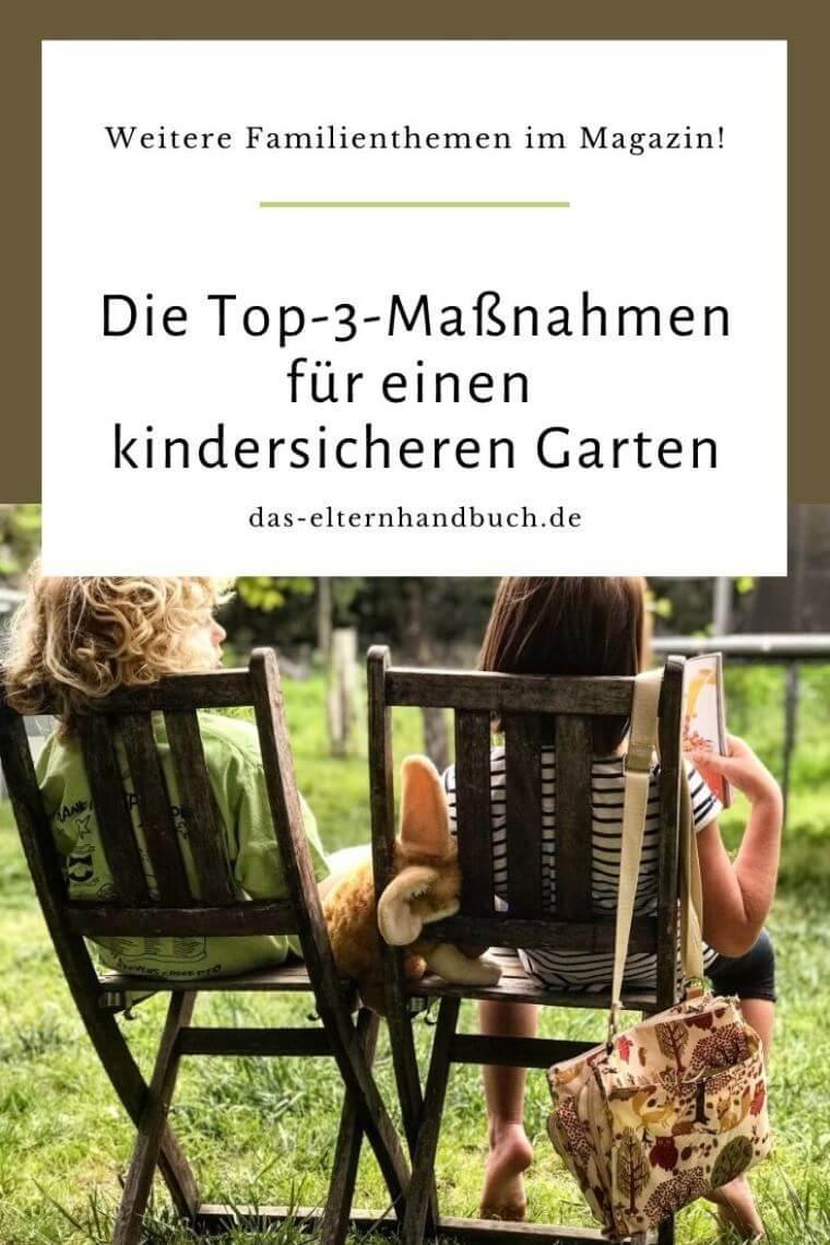 Garten, kindersicher