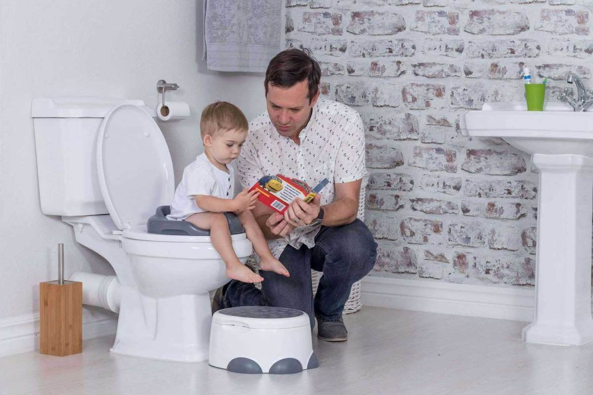 Bumbo step 'n potty