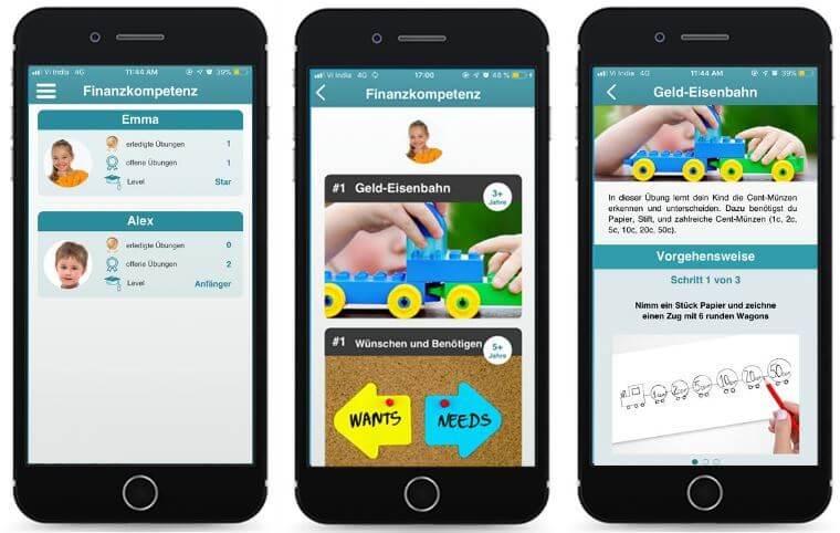 Finny-App: Finanzerziehung