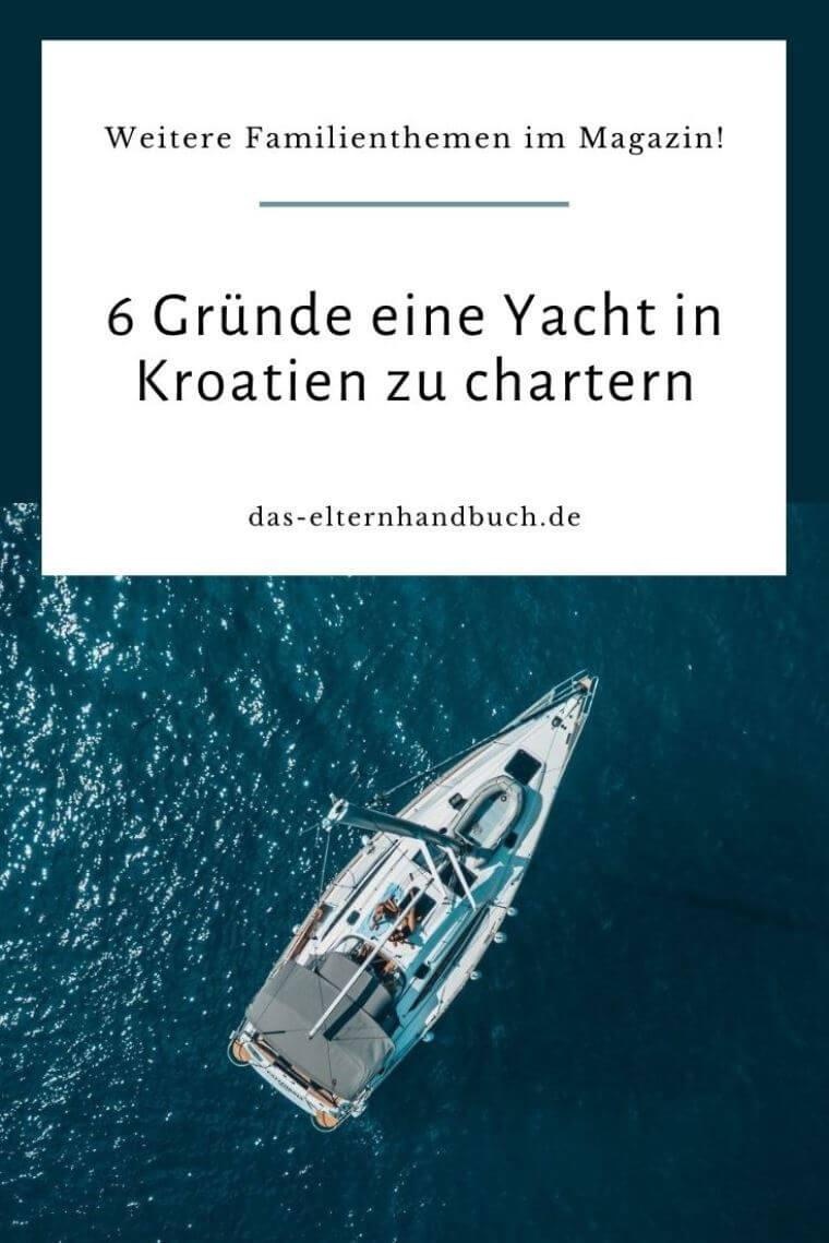 Yacht in Kroatien charten