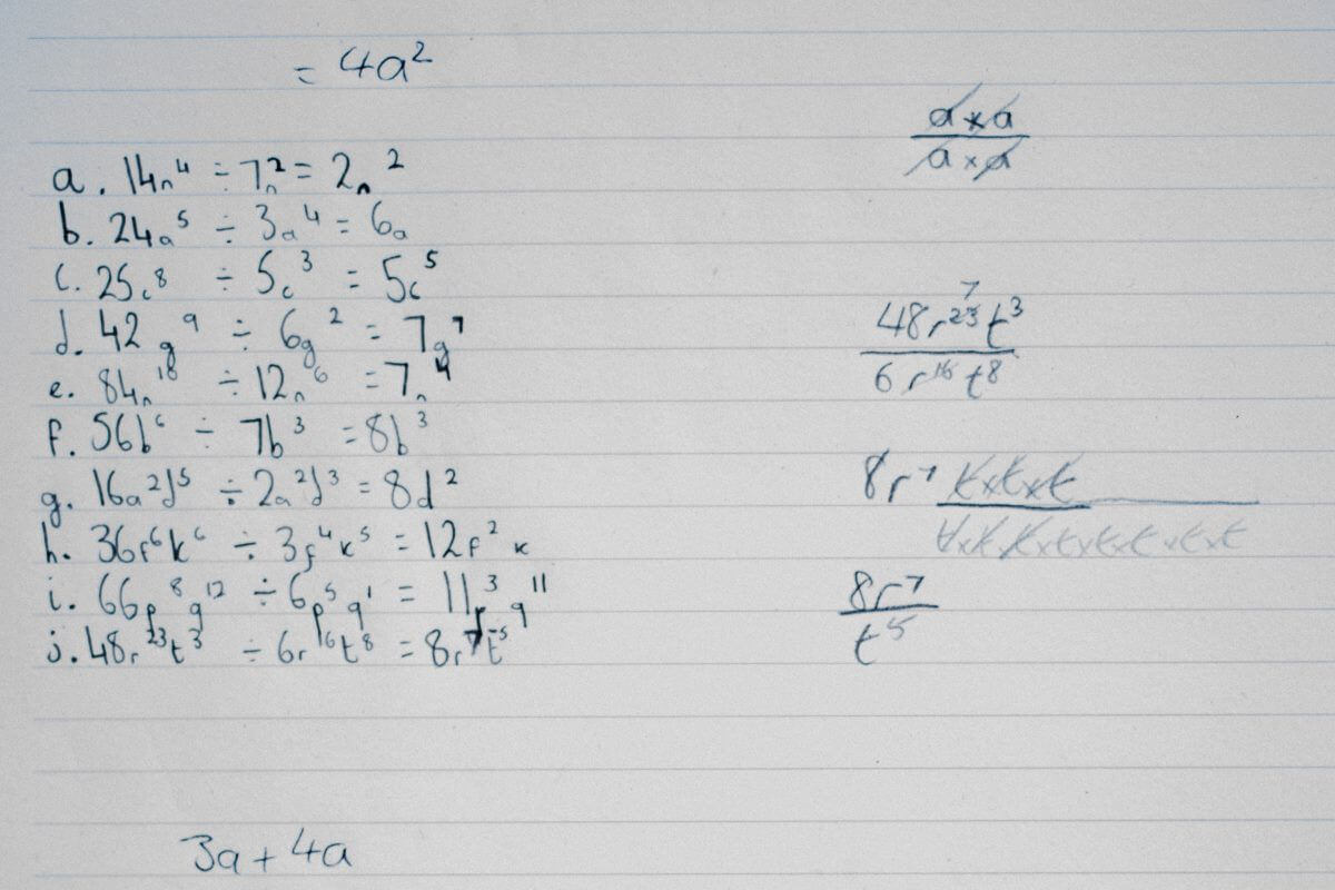 Mathematik, Algebra, Nachhilfe, Nachhilfeunterricht