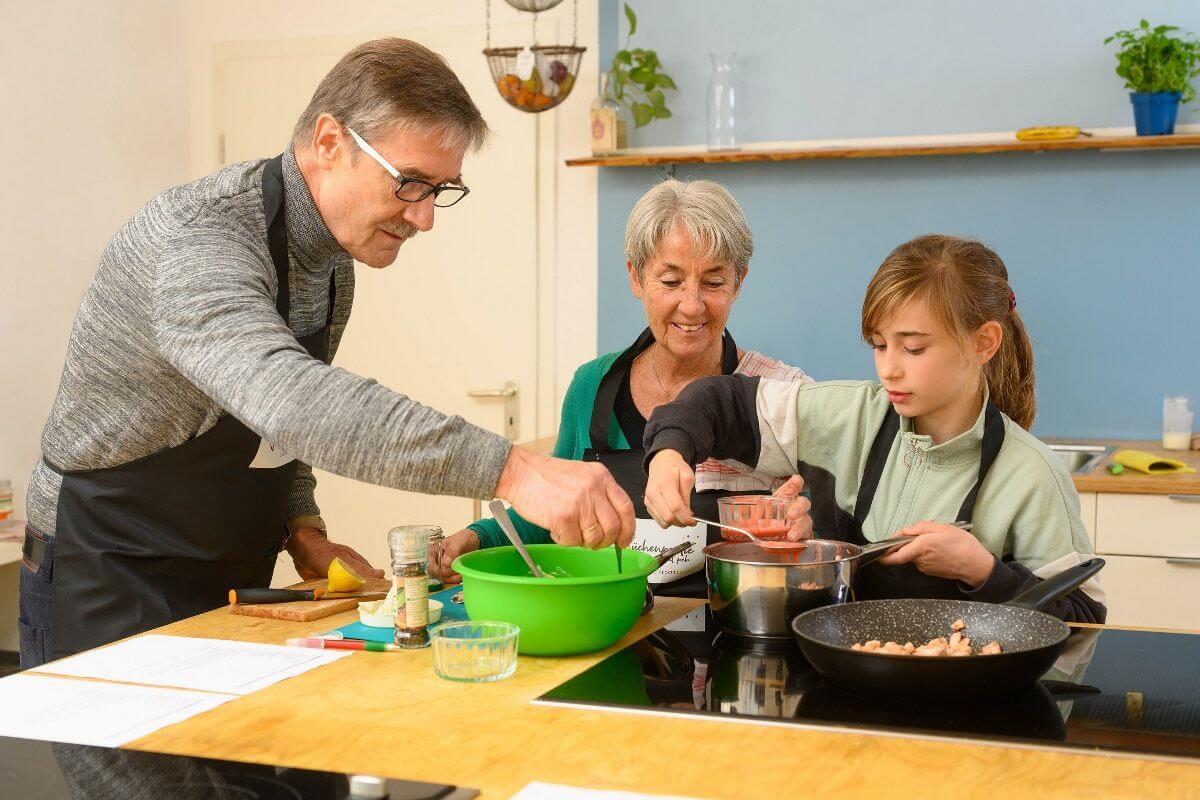 Die Küchenpartie mit peb
