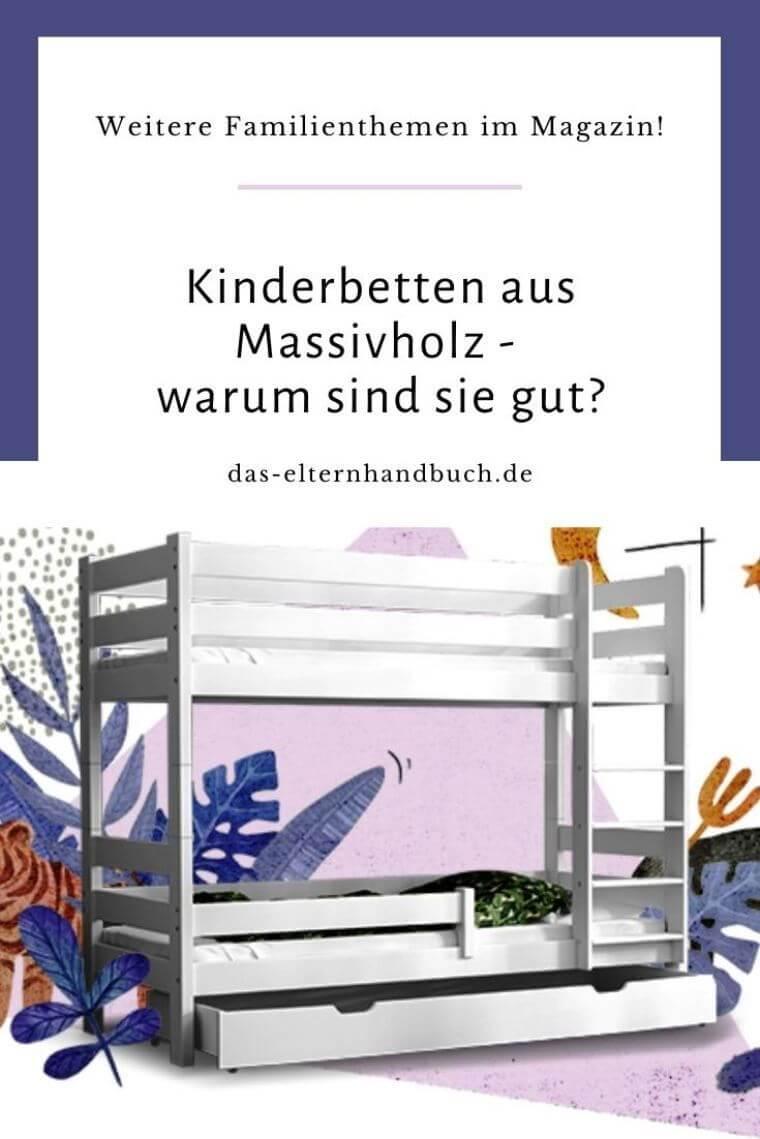 Kinderbetten aus Massivholz