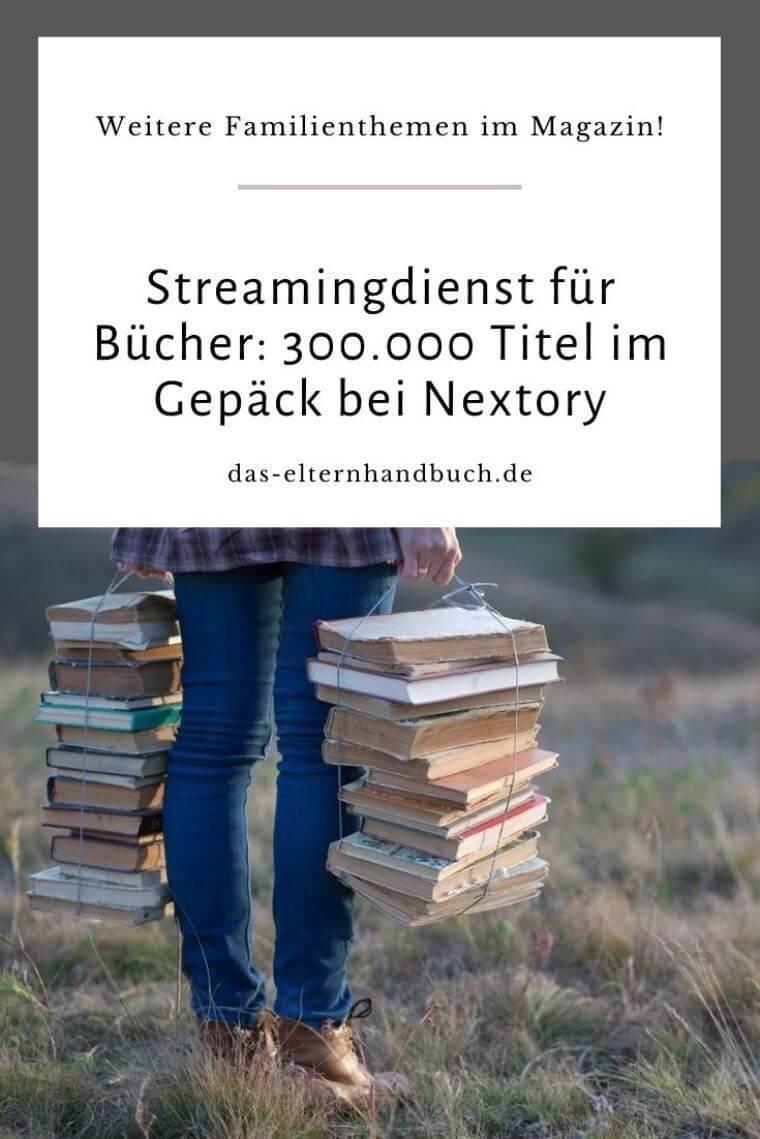Nextory, Bücher