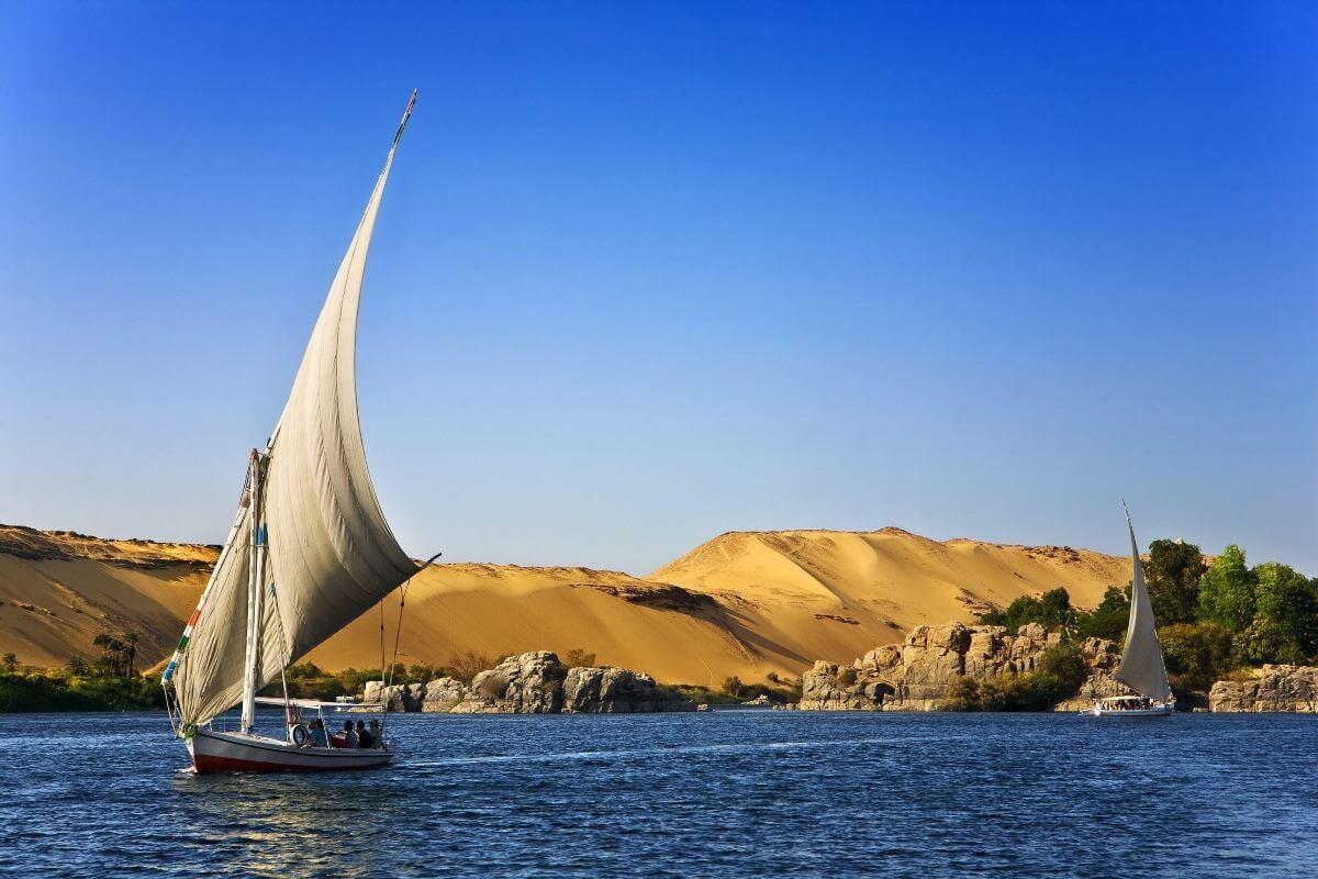 Ägypten, Boot